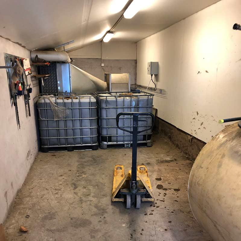 Bryggning av ferment för regenerativt jordbruk