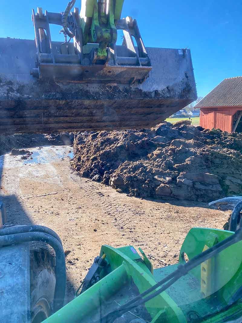 Snabbkompostering av gödsel