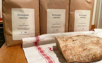 Produktnyhet: Ekologiskt och kravmärkt vetemjöl